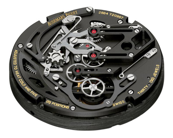 Haute Timepieces: The Audemars Piguet Millenary Carbon One Tourbillon Chronograph Limited Edition Watch-Most Desirable Excessive Use of Carbon