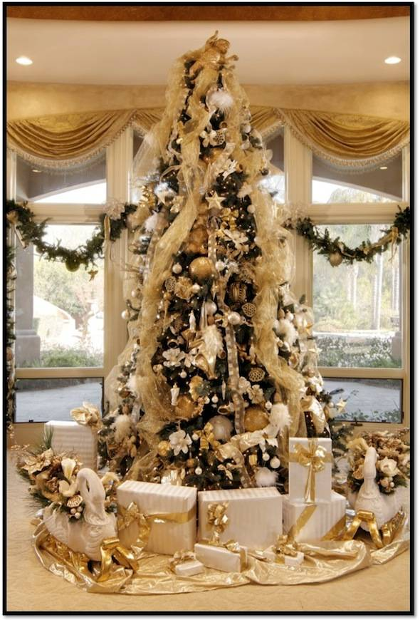 How to Decorate a Designer Christmas Tree for Your Luxury ...